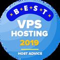 מוענק לחברות ברשימת 10 המובילות בקטגוריית הוסטינג ה-VPS הטוב ביותר.